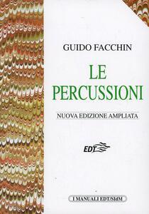 Le percussioni - Guido Facchin - copertina