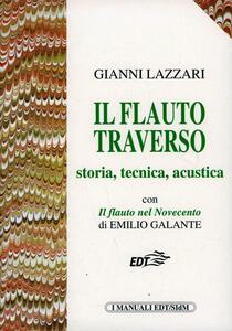 Il flauto traverso - Gianni Lazzari,Emilio Galante - copertina