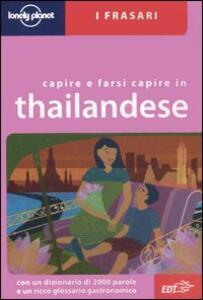 Capire e farsi capire in thailandese - Bruce Evans - copertina
