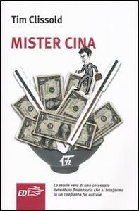 Mister Cina - Tim Clissold - copertina