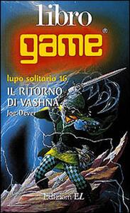 Il ritorno di Vashna - Joe Dever - copertina