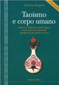 Taoismo e corpo umano - Catherine Despeux - copertina