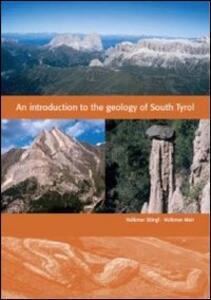 An indroducion geology of South Tirol - copertina