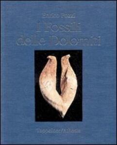 I fossili delle Dolomiti - Enrico Pozzi - copertina