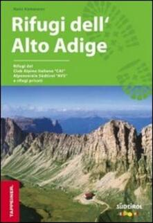 Guida rifugi in Alto Adige. Con kit di pronto soccorso