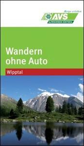 Wandern ohne Auto (AVS). Wipptal - copertina