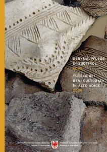 Denkmalpfelge in Südtirol 2009. Tutela dei beni culturali in Alto Adige 2009. Ediz. multilingue - copertina