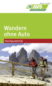 Wandern ohne Auto (AVS). Hochpustertal - copertina