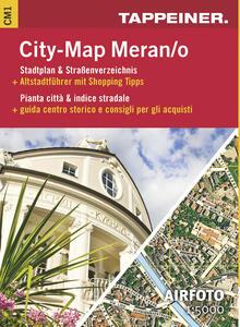 Stadtplan Merano Citymap-Cartina stradale Merano Citymap - copertina