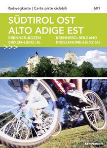 Südtirol ost. Alto Adige est. Radwegkarte. Carta piste ciclabili - copertina