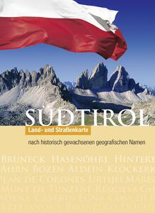 Wanderkarte Südtirol-Historische Namen-Cartina escursionistica Alto Adige con i nomi storici. Ediz. bilingue - copertina