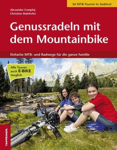 Genussradeln mit dem Mountainbike. Einfache MTB und Radwege für die ganze Familie