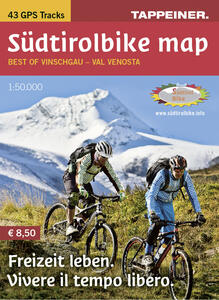 Südtirolbike map. Best of Vinschgau. Ediz. italiana e tedesca