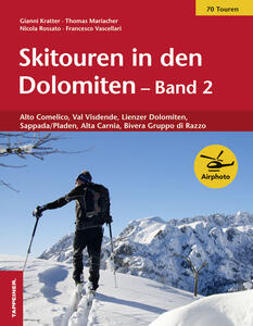 Skitouren in den Dolomiten band. Vol. 2 - Gioachino Kratter,Thomas Mariacher - copertina