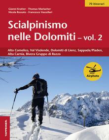 Voluntariadobaleares2014.es Scialpinismo nelle Dolomiti. Vol. 2: Alto Comelico, Val Visdende, Dolomiti di Lienz, Sappada/Pladen, Alta Carnia, Gruppo di Razzo. Image