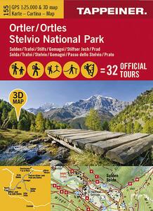 Ortler/Stelvio national park. Carta 3D - copertina