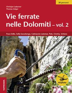 Vie ferrate nelle Dolomiti. Vol. 2 - Thomas Zelger - copertina