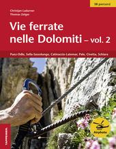 Vie ferrate nelle Dolomiti. Vol. 2