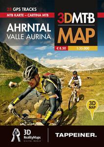 Valle Aurina. Cartina MTB. Con riproduzioni 3D - copertina