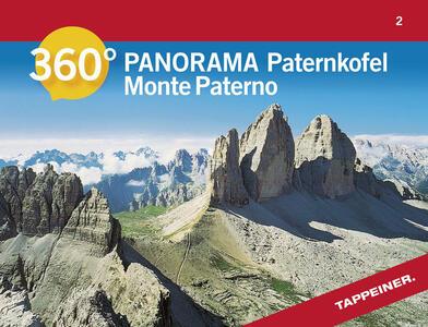 Monte Paterno. Carta panoramica 360° - copertina