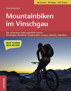 Mountainbiken im Vinschgau - Siegi Weisenhorn - copertina