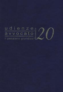 Listadelpopolo.it Udienze avvocato. Il pensiero giuridico. Agenda 2020 Image