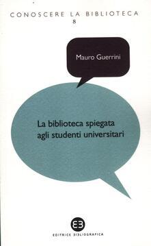 Daddyswing.es La biblioteca spiegata agli studenti universitari Image