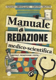 Nicocaradonna.it Manuale di redazione medico-scientifica. Abstract, presentazioni e poster Image
