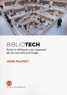Winniearcher.com Bibliotech. Perché le biblioteche sono importanti nell'era di Google Image