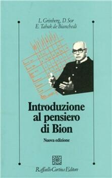 Cefalufilmfestival.it Introduzione al pensiero di Bion Image