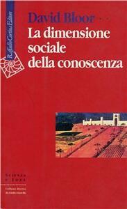 La dimensione sociale della conoscenza