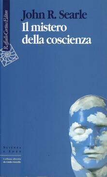 Il mistero della coscienza - John R. Searle - copertina