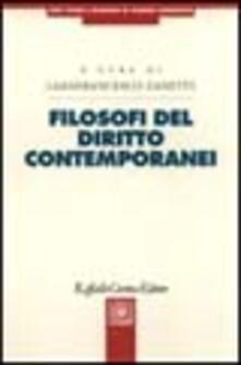 Promoartpalermo.it Filosofi del diritto contemporanei Image