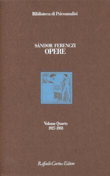 Grandtoureventi.it Opere. 1927-1933. Vol. 4 Image