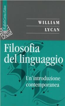 Antondemarirreguera.es Filosofia del linguaggio. Un'introduzione contemporanea Image