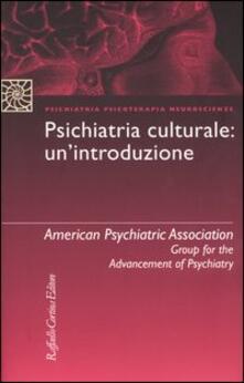Daddyswing.es Psichiatria culturale: un'introduzione Image