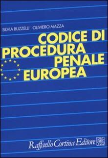Writersfactory.it Codice di procedura penale europea Image