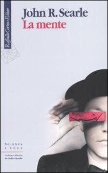 La mente - John R. Searle - copertina