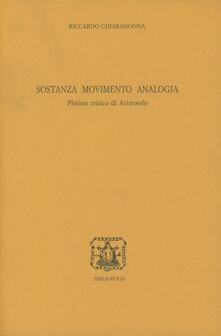 Sostanza, movimento, analogia. Plotino critico di Aristotele.pdf