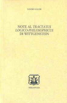 3tsportingclub.it Note al Tractatus logico-philosophicus di Wittgenstein Image