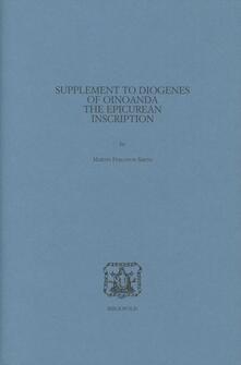 Grandtoureventi.it Supplement to Diogenes of Oinoanda Image