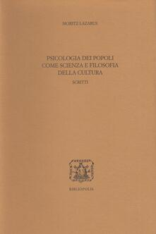 Mercatinidinataletorino.it Psicologia dei popoli come scienza e filosofia della cultura Image