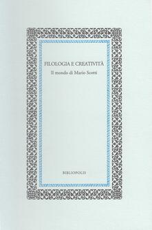 Chievoveronavalpo.it Filologia e creatività. Il mondo di Mario Scotti Image