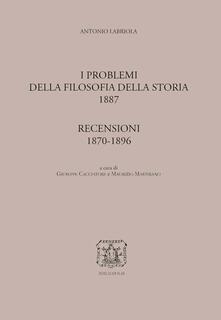 Winniearcher.com I problemi della filosofia della storia-Recensioni (1870-1896) Image