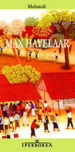 Max Havelaar ovvero Le aste del caffè della Società di Commercio olandese