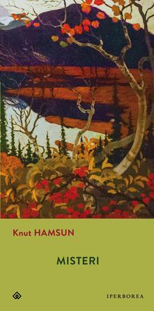 Misteri - Knut Hamsun - copertina