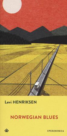 Norwegian blues - Levi Henriksen - copertina