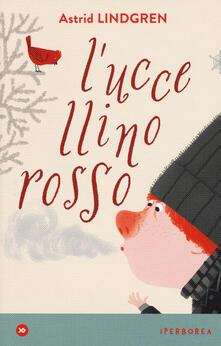 L' uccellino rosso - Astrid Lindgren - copertina