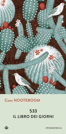 533. Il libro dei giorni - Fulvio Ferrari,Cees Nooteboom,Sassen Simone - ebook