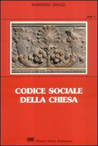 Codice sociale della Chiesa